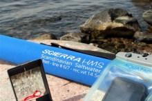 Ausrüstung für Wanderung auf der Insel Æbelø