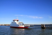 fähre zur insel fur im limfjord