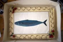 makrelen-torte aus marzipan