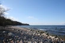 Blick über die Salene-Bucht