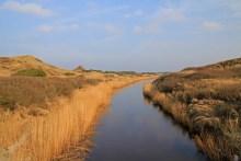 Die Henne Mølleå bei Henne Strand