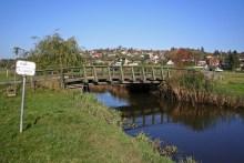 Die Kolding Å westlich von Kolding