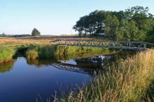Die Varde Å bei Vagtborg Bro