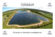 Tiefenkarte vom Forellensee Kaldredgården's Put & Take