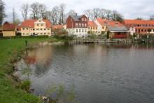 Der See südlich der Blegdamsgade