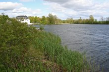 Der Hvidkilde Sø auf Fyn