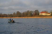Angeln im Maribo Søndersø auf Lolland
