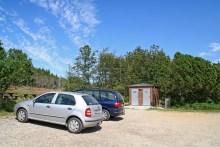 Parkplatz am Nors Sø in Nordjütland