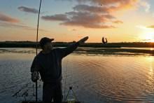 Barsch angeln in Dänemark am Vilsted Sø