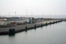 Angelplatz Rønne Hafen auf Bornholm