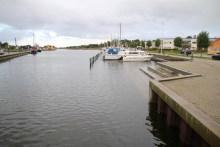 Angelplatz Sakskøbing Hafen auf Lolland
