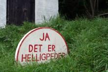 Angelplatz Helligpeder auf Bornholm