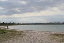 Angelplatz Båring Strand auf Fünen