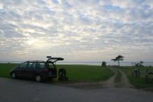 Parkplatz am Angelplatz Lyngen auf der Insel Als