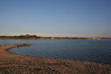 Angelplatz Stevning Næs auf der Insel Als