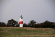 Leuchtturm Tranerodde auf der Insel Als
