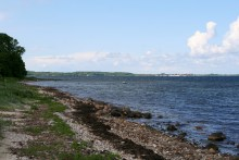 Angelplatz Englandshuse am Isefjord auf Seeland
