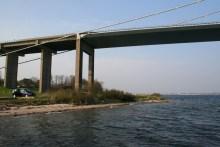 Angelplatz Lyngsodde an der Großer-Belt-Brücke