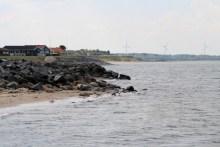 Angelplatz Handbjerg Strand an der Venø-Bucht im Limfjord
