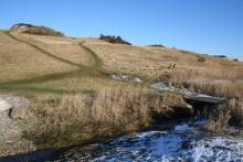 Angelplatz Hanklit auf der Insel Mors im Limfjord