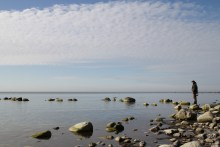 Meerforellenangeln am Møns Fyr Riff auf Møn