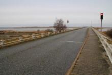 Angelplatz Nyord Brücke auf Møn