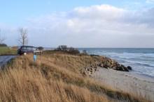 Angelplatz Pumpenstation Råbylille Strand auf Møn