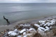 Angelplatz Råbylille Strand auf Møn