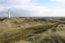 Nørre Lyngvig Fyr an der Nordsee
