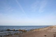 Angelplatz Smidstrup Strand auf Seeland