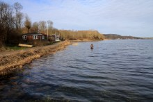 meerforellenangeln auf kalvø