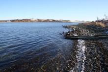 Angelplatz Vilsund Mole am Limfjord