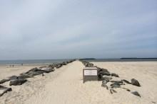 Angelplatz südliche Außenmole von Hvide Sande