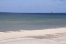 Angeln an der Nordsee bei Klegod