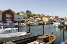 Hafen von Haynebyen auf Sjællands Odde